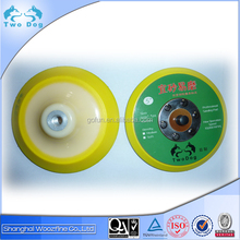 Good round hook and loop backing car polishing pads used with sanding disc