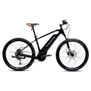 Chinese brand carbon fibre electric mountain bike with middle motor