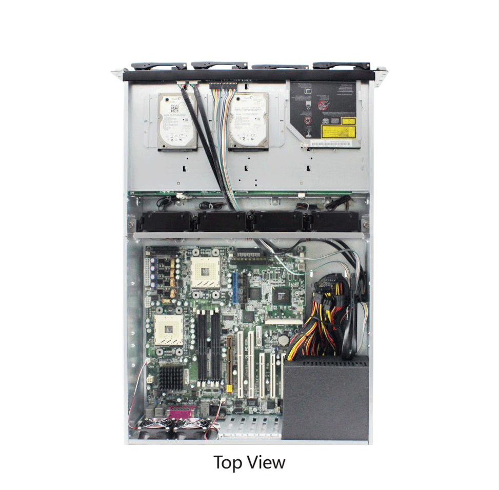 ED316H 3U rack mount server case