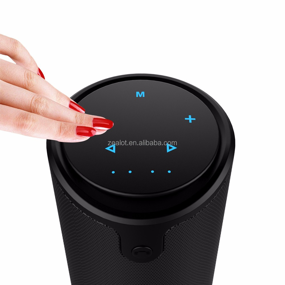Mp3 Player Wireless Bluetooth Speaker Stereo Portable Speakers with TF Card and Touch Panel