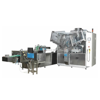 High performance NF-160 automatic tube filling and sealing machine