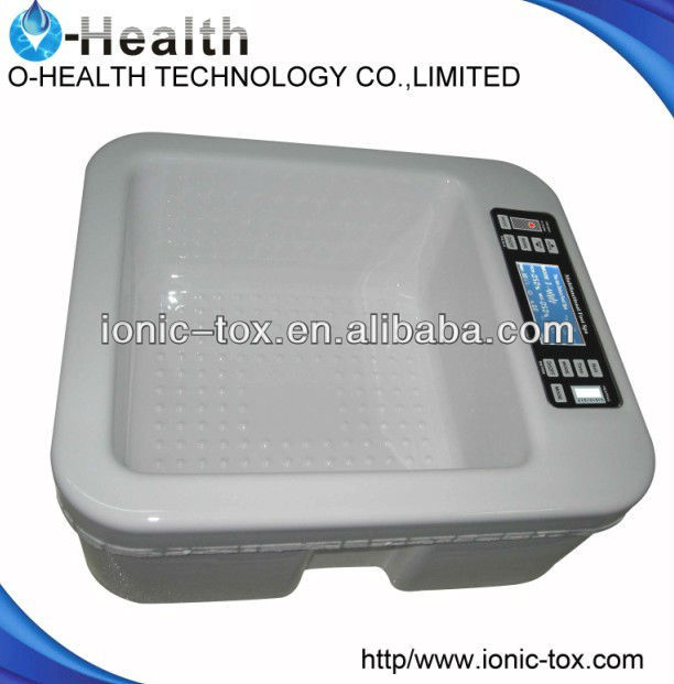 Good tens machine Ion cleanse detox foot bath with vibraton and heating