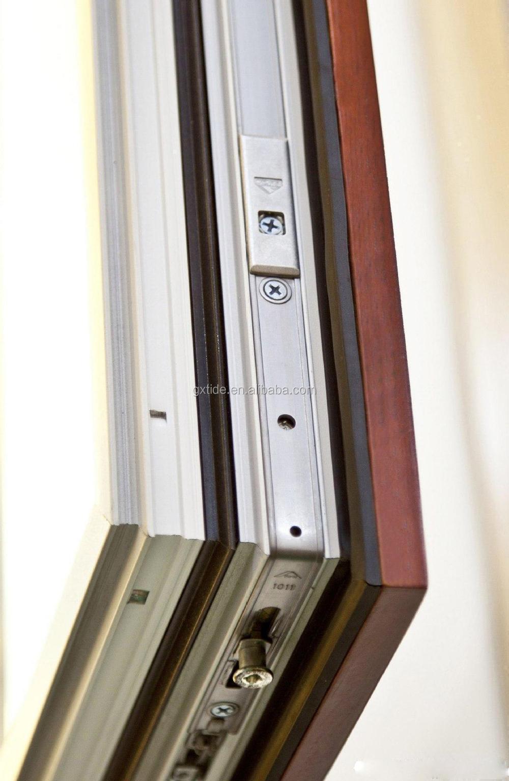 Wooden design frame 5mm double glazed casement windows for Buy casement windows