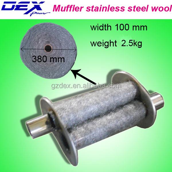 0000 Steel Wool For Sale: Auto Part Exhaust Muffler Stainless Steel Wool