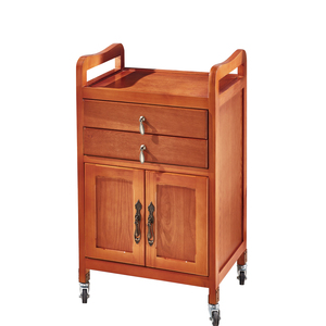 Factory supply hairdressing trolley wooden salon trolley