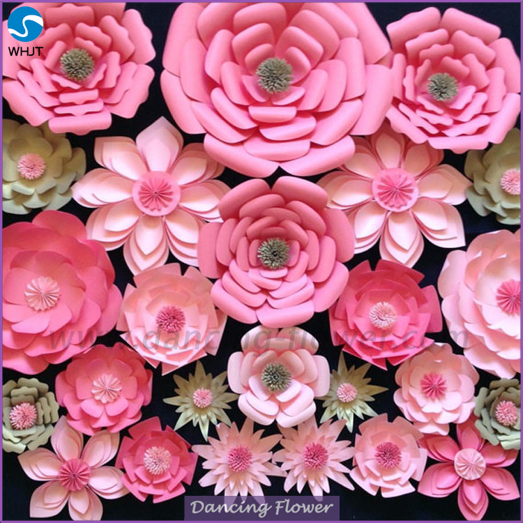 Hot Paper Floral Foam Flower Backdrop Wedding Decorations Buy Foam Flower Backdrop Foam Paper Flower Artificial Flowers Product On Alibaba Com