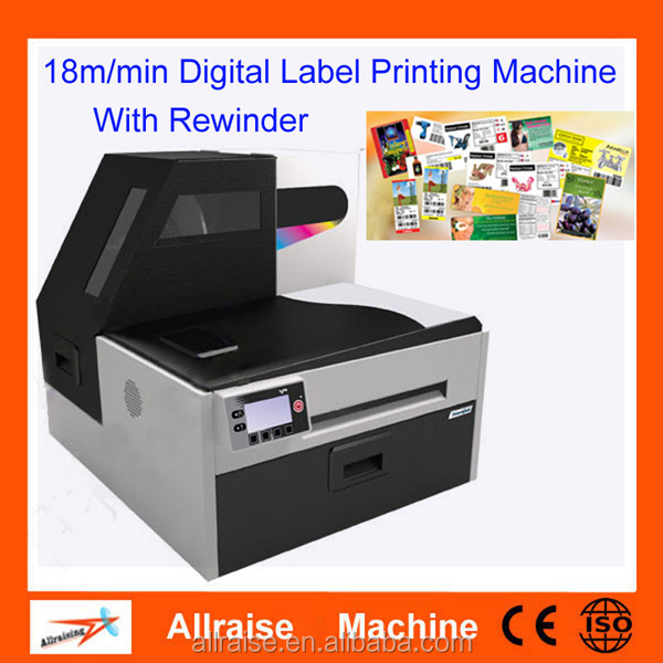 Multicolor Self Adhesive Label Printing Machines Flexo