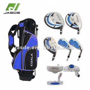 Custom mens new junior kids left handed golf clubs complete set