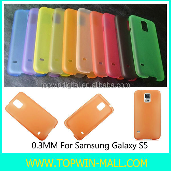 Leather Back Case Galaxy S5, 0.3mm Ultra Thin Series Case For Samsung Galaxy S5 i9600