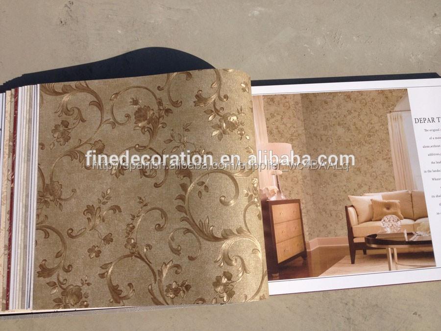 venta al por mayor precio papel tapiz para paredes compre