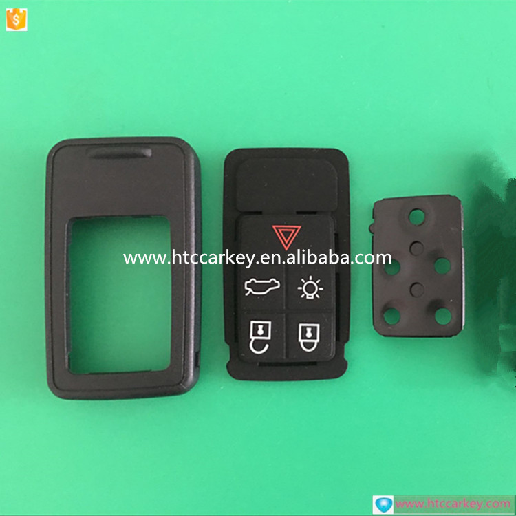Good price 5 buttons car remote key shell for Volvo