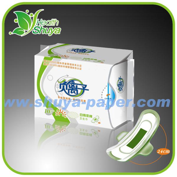 8 Layers Lady Anion Women Sanitary Napkin Protective Pads
