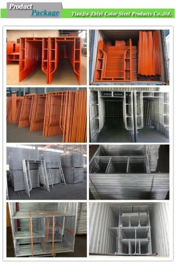 Safeway Scaffolding Steel : High strength safeway frame scaffolding material for sale