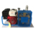 Portable gasoline air compressor for scuba diving breathing