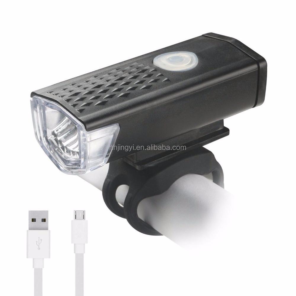 LED自転車ライト300ルーメン防水自転車フロントUSB充電式ヘッドライト
