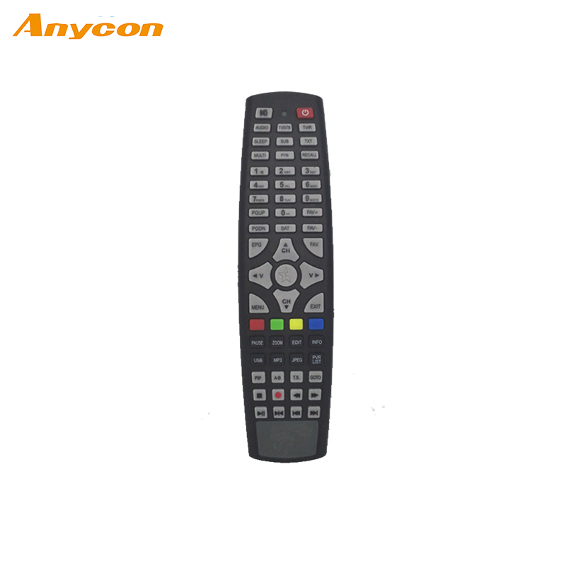 best price audio rubber key type ir electron lcd tv remote control