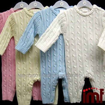 Baby Boy Clothes Crochet Romper