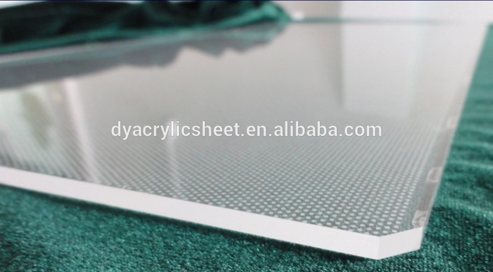 Whole Acrylic Light Guide Panel High Quality Pmma Laser Engraving