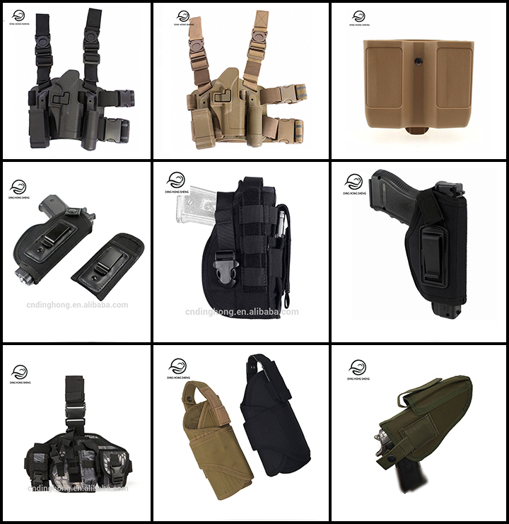 Tactical Quick Drop Leg Holster Airsoft Right Hand Pistol Holster for G17