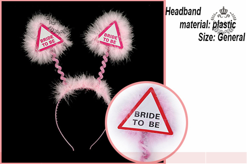 Yiwu Golden Bride To Be Sash Decorations Bachelorette Party Supplies Kit