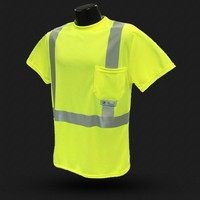 high visibility t-shirt customized safety sweatshirt with competitive price