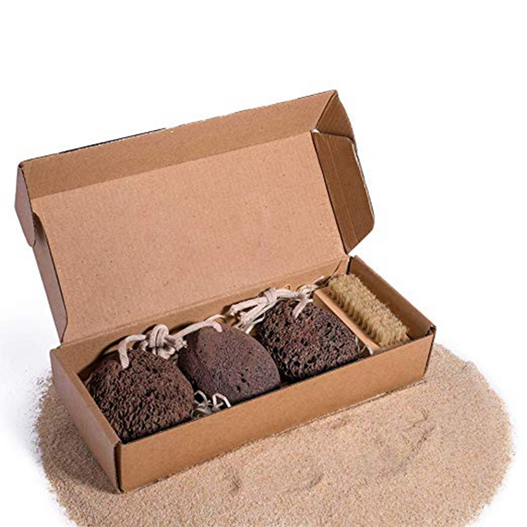 Natural Pumice Stone Set for Calluses and Skin Care