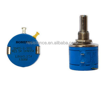 ROHS 3540S precision 10 turn wirewound alps potentiometer
