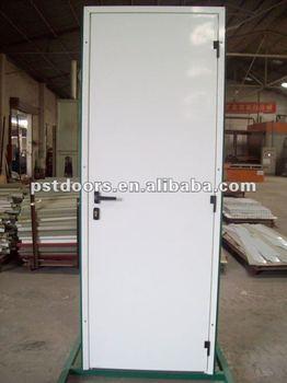 Economical Flush Panel Steel Door Residential Steel Entry