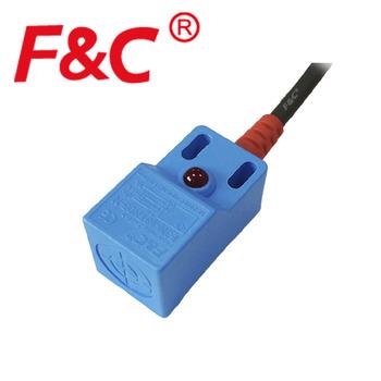 Q18 Rectangular 5mm Inductive Sensor Pnp 3 Wires Proximity Switch ...