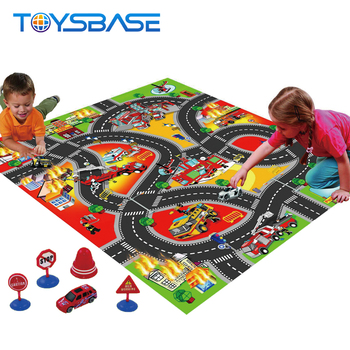 Hot Sale Car Traffic Game Carpet Toys Foam Baby Play Mat