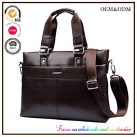 Sling men purses handbags leather computers laptops suppliers decals skateboard leather shoulder messenger bag China supplier