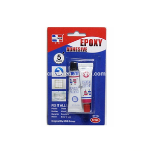5 minutes transparent clear epoxy AB glue in tube