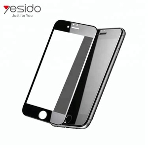 3D Full screen soft frame mobile glass screen guard for iPhone 8