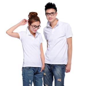 Factory Custom Logo Plain Short Sleeve Work Polo T-shirt