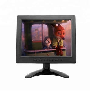 LCD Powered Battery Advertising 8inch Monitor For Pc Used
