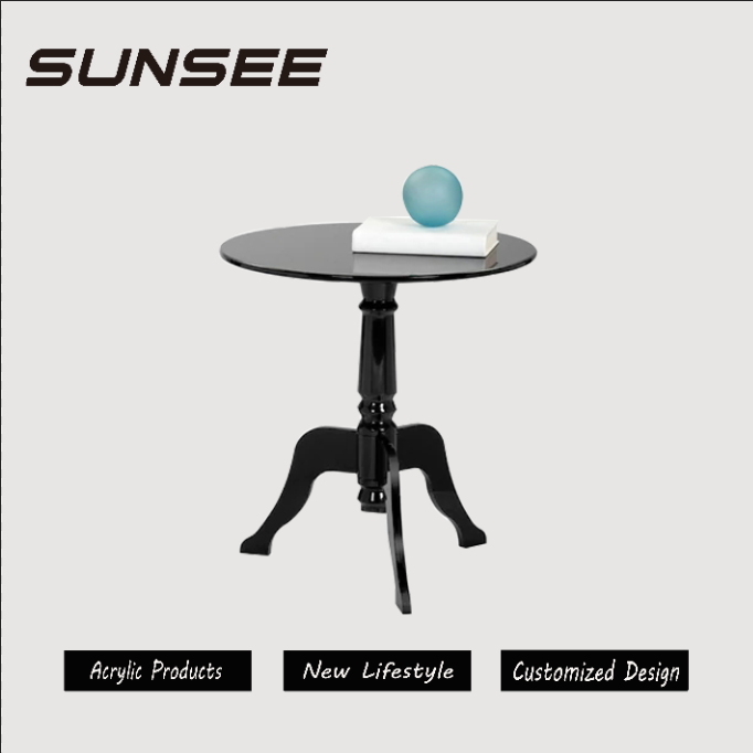 top sales clear round party tables