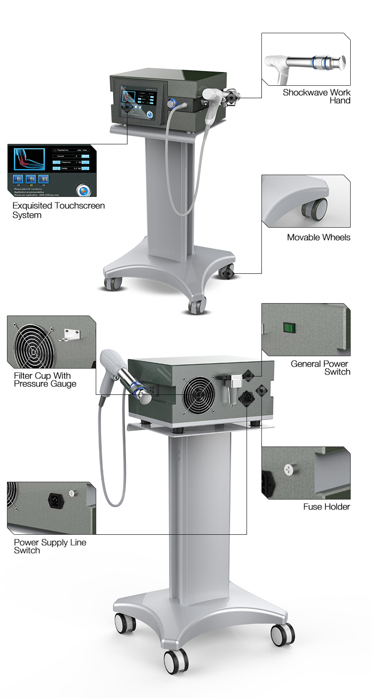 Physical extracorporeal shock wave therapy equipment for body pain relief.jpg