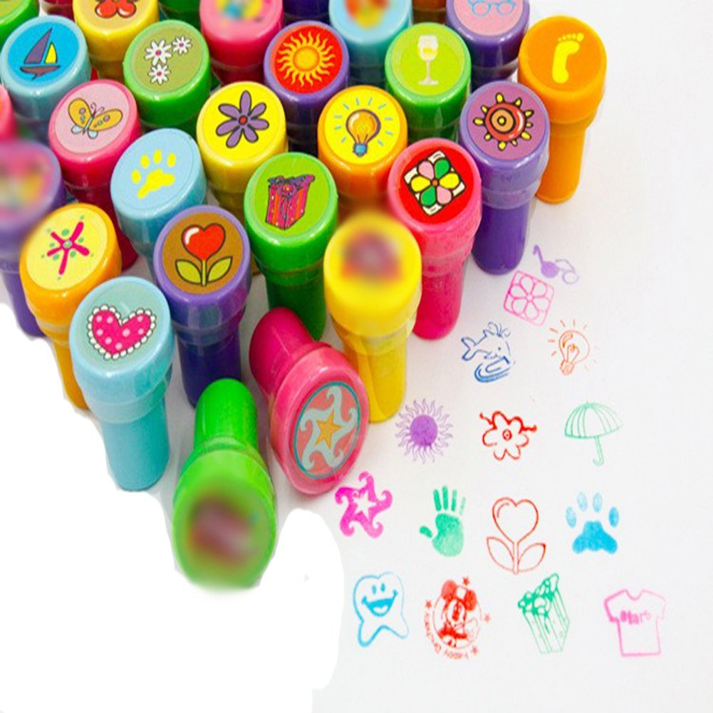 self ink stamps kids party favors event supplies for birthday party gift