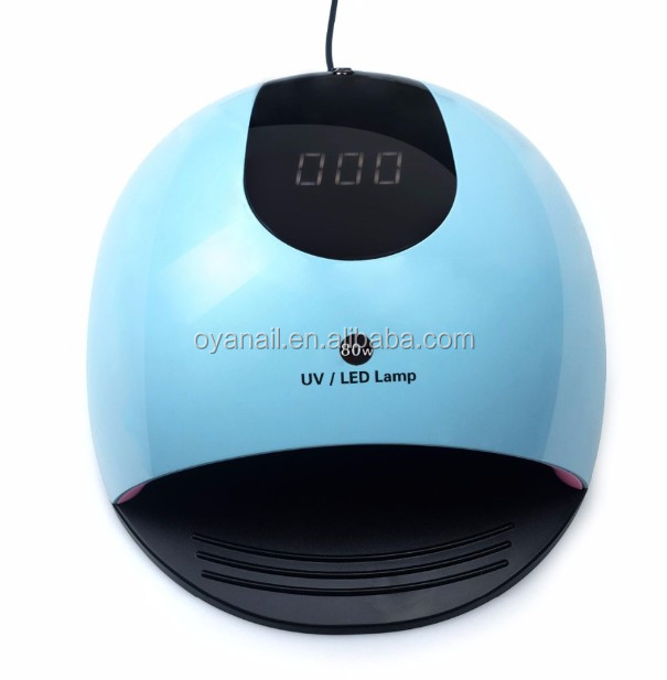2019 new trending products SUN light fast drying 80w lamp electric nail dryer