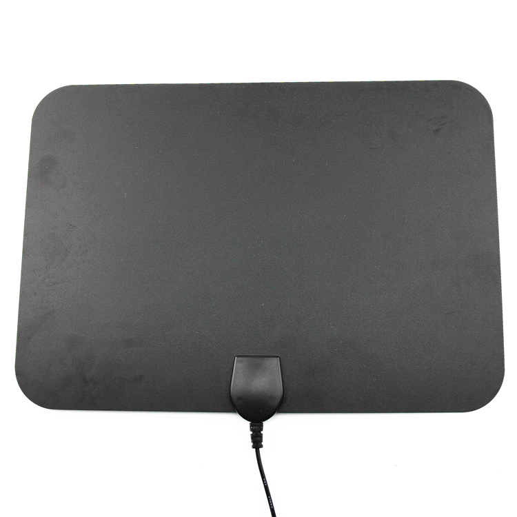 Indoor Digital TV Antenna 25dBi High Gain Full HD 1080p VHF / UHF DVB-T-Aerial F Male Connector for DTV / TV Antenna