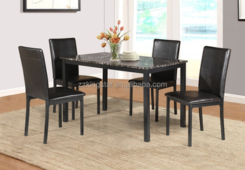 Wholesale Faux Marble Top Dinette Sets Restaurant Bistro Dining - Marble top circle dining table
