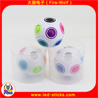 Fire-Wolf popular football toys manufacturers Fashion multi-function ball original rainbow ball