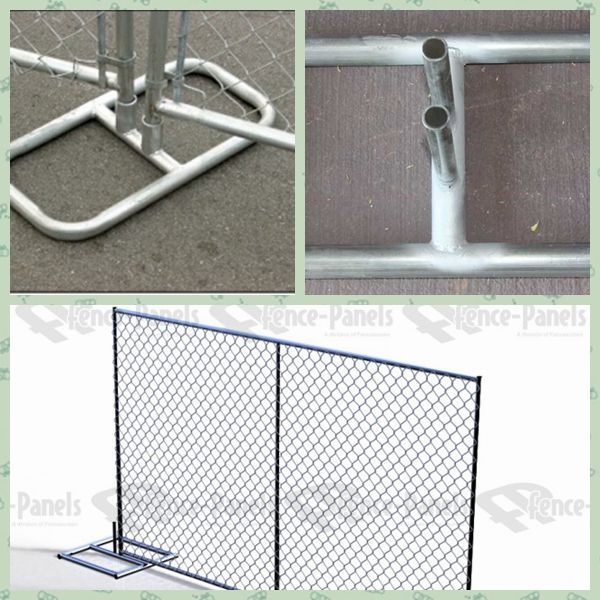 Lowest Price Temporary Stand Alone Chain Link Fence Panels