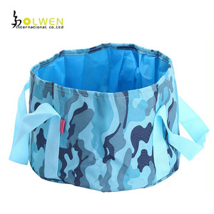 Waterproof Lightweight Travel Outdoor Foot Fruit Food Folding Basin Bag