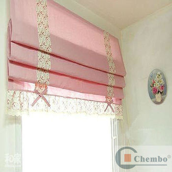 pink rose roman measure patterned to filter db blinds dotty made from direct