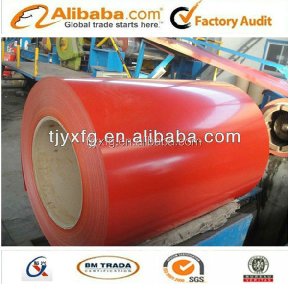 Golden supplier with PPGI Prepainted galvanized Steel Coil (PPGI/PPGL) / Color Coated Steel/SGCC/Roofing steel