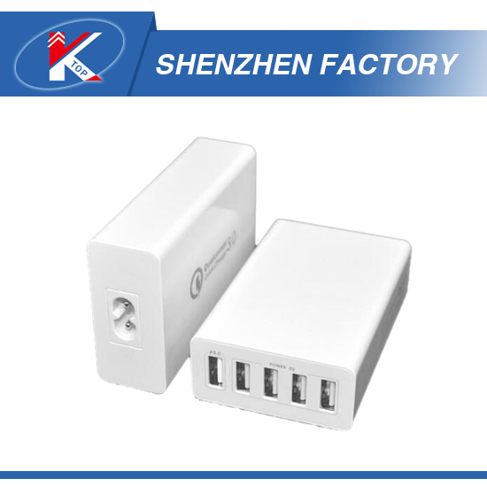 Public Use 5 USB Port Mobile Phone Charger, for Train Station Use