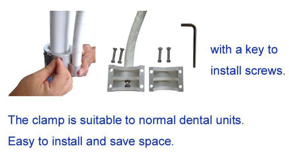 Econormical Led Teeth Whitening Machine Built-in Dental Chair/Tooth Whitening Device Dental Bleaching Machine