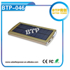 BTP-046 Solar Charger 8000mAh Universal Power Bank With FC CE RoHS