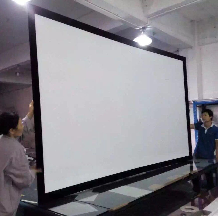 Magnificent Diy Projector Screen Frame Image Collection - Framed Art ...